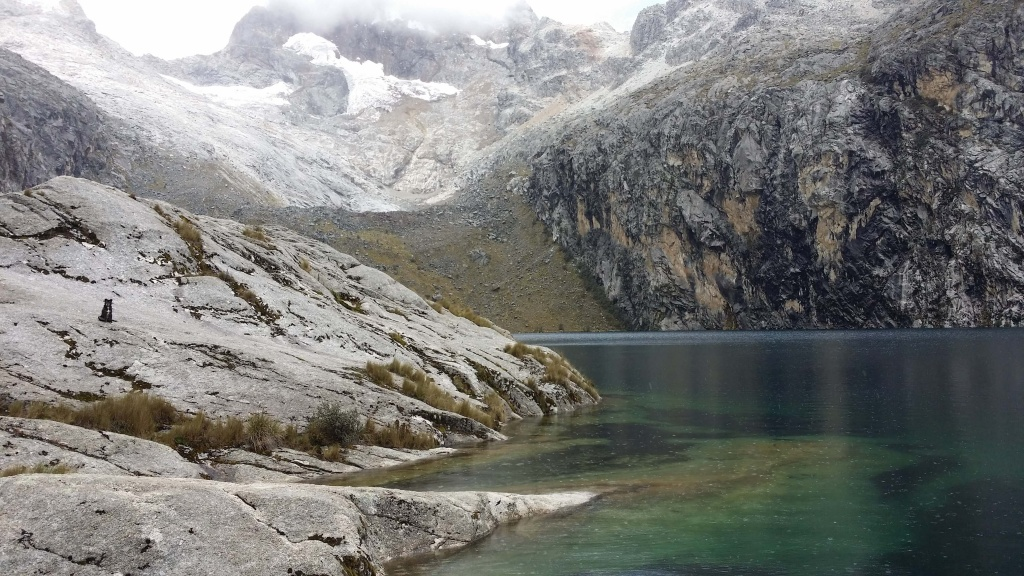 Laguna Churup.  Photo by Nate