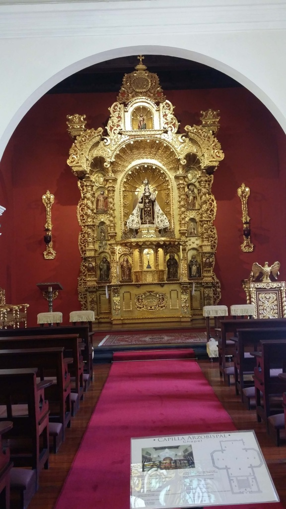 Altar of the chapel. Photo: Amelia