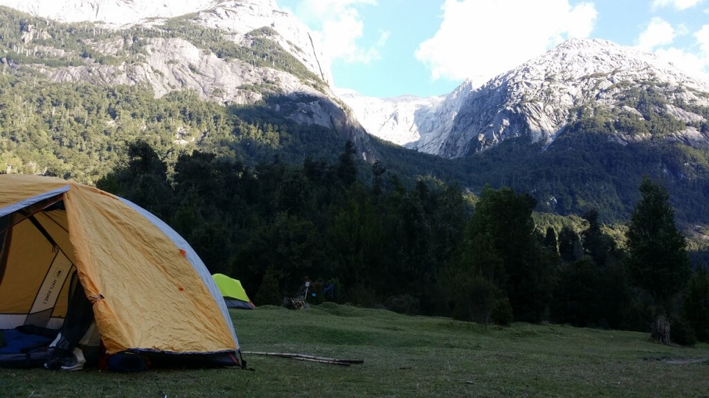 "Camping in the ""Yosemite"" of South America. Photo: Nate"