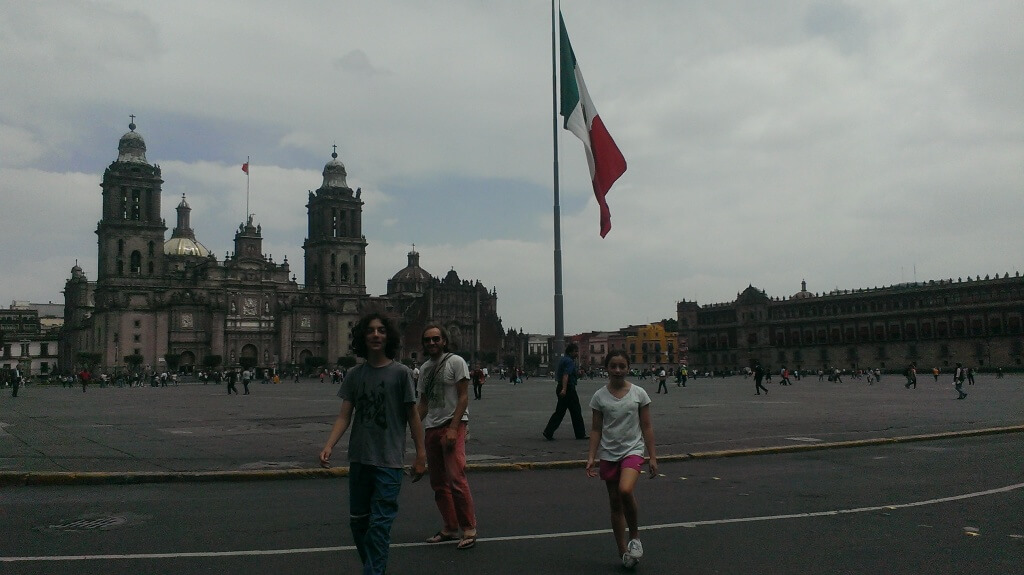 Zócalo. Photo by V.