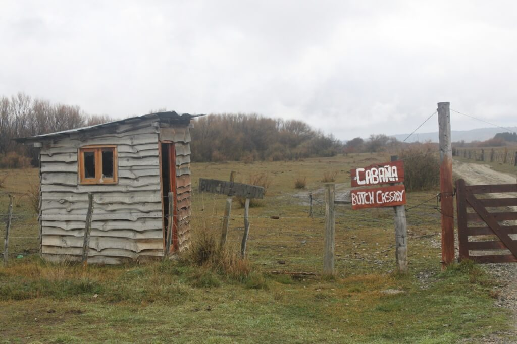 On our way to El Bolson - The cabin where Butch Cassidy & Sundance Kid apparently lived. Photo: V