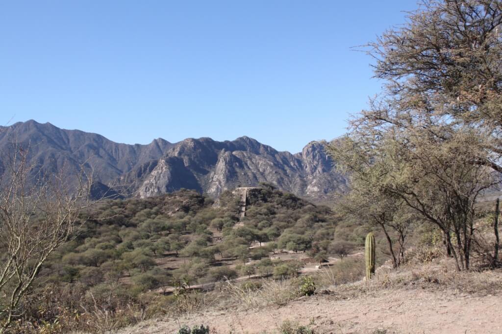 El Shincal de Quimivil, pre-Inca and later Inca city. Photo: Amelia