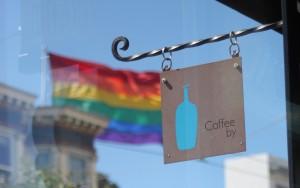 Coffee break in the Castro