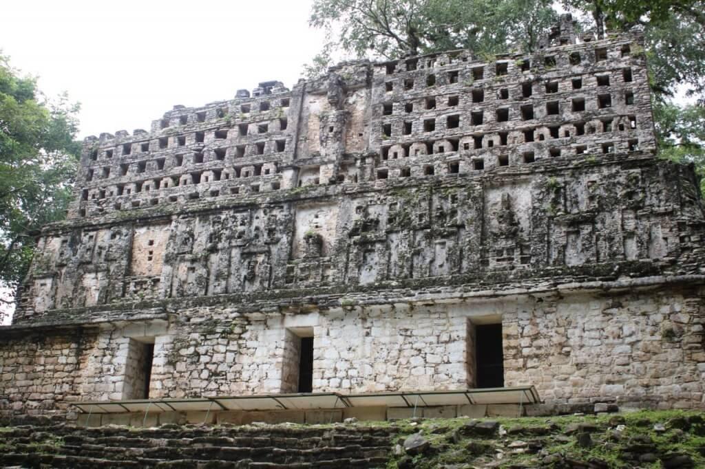 Templo en Yaxchilan. Foto: Nate