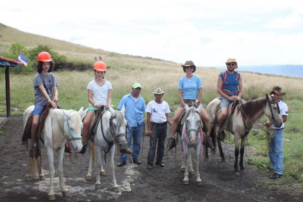 Giddyup!  Masaya Volcano.  Photo by.... the horse owner.