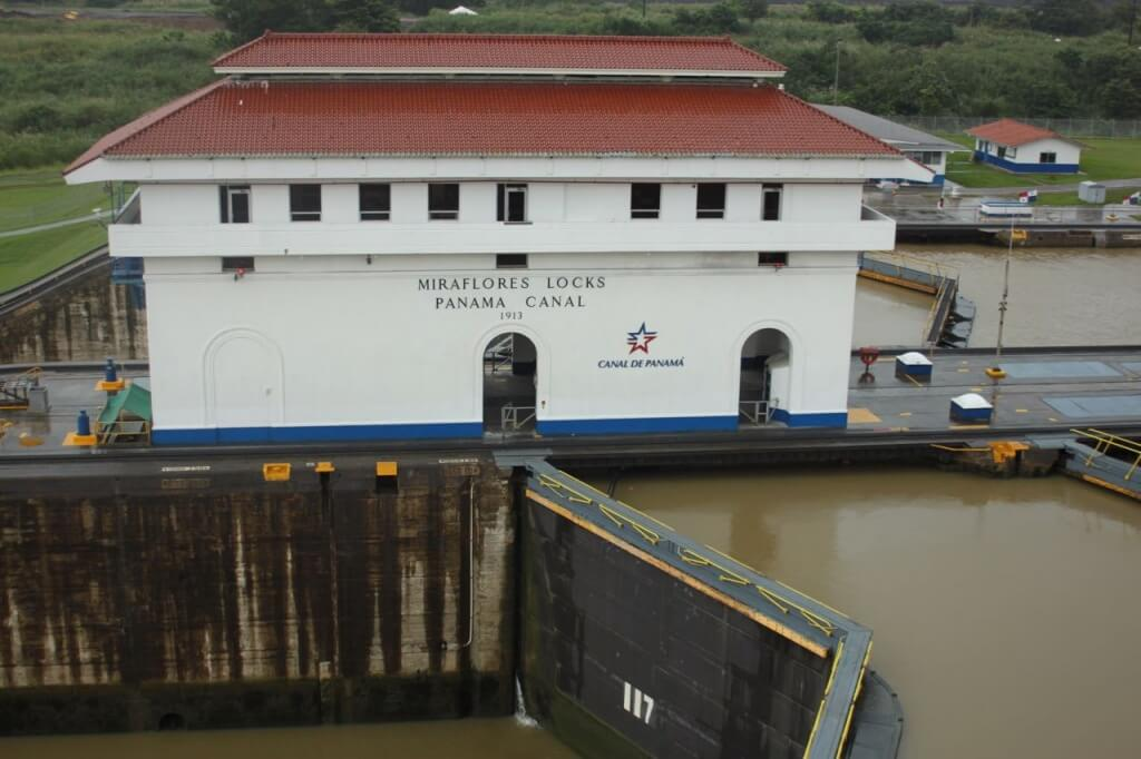 Panama Canal.  Photo by Nate