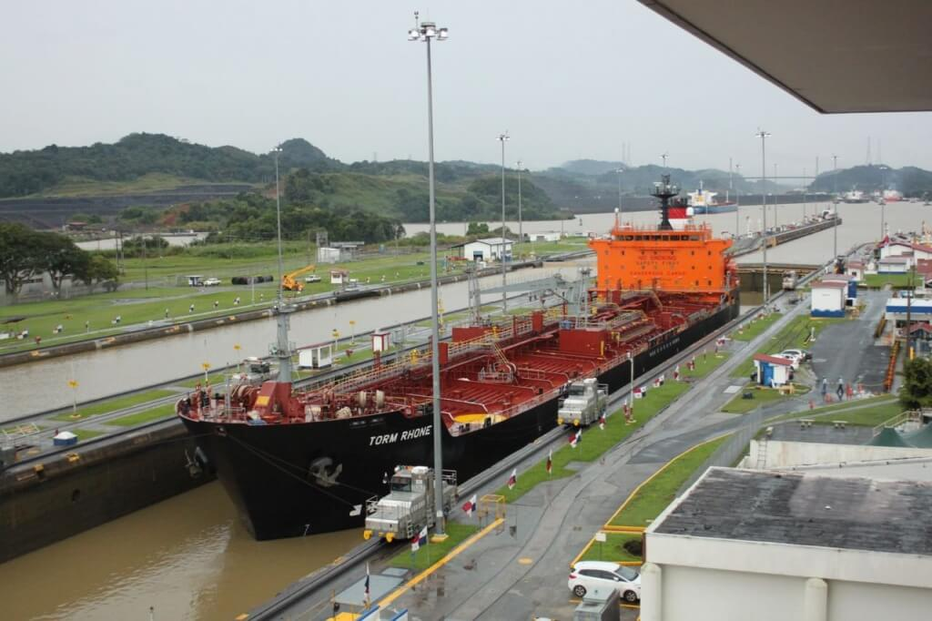 Panama Canal. Photo by Benjamin.
