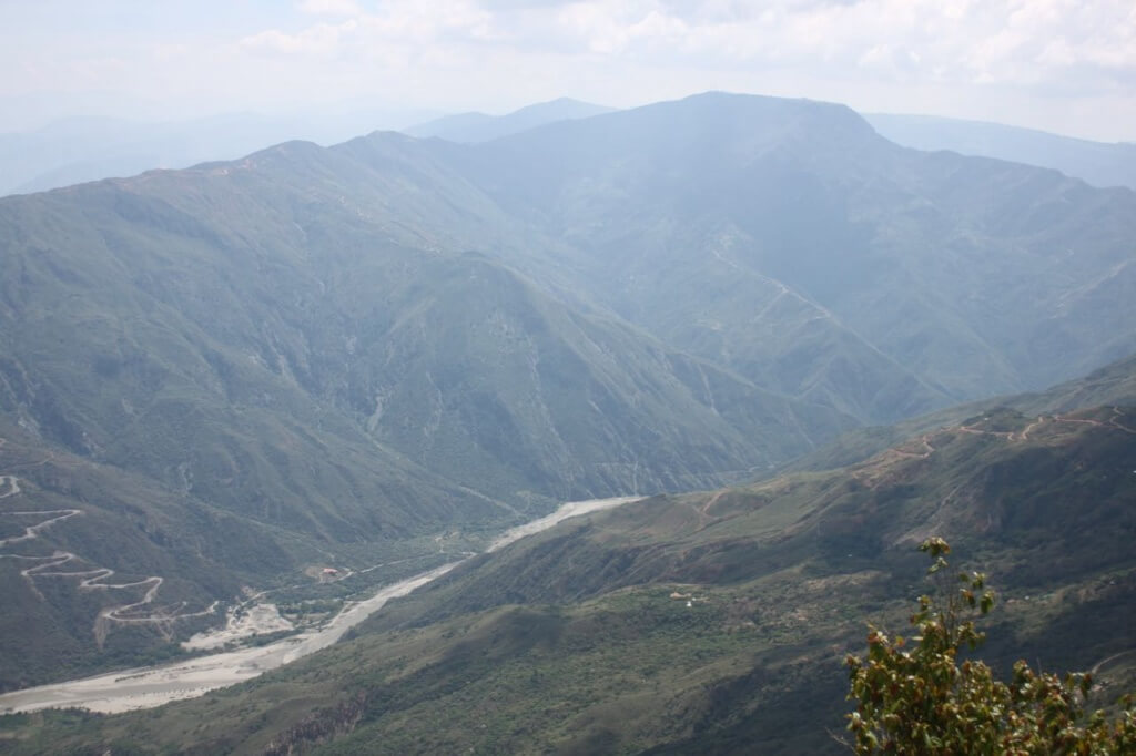 Chicamocha Canyon.  Photo by Nate