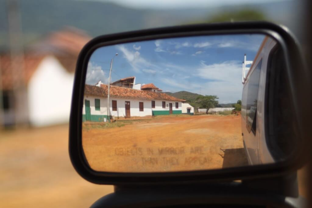 Homes for sale in beautiful Barichara may be closer than they appear.  Photo by V.