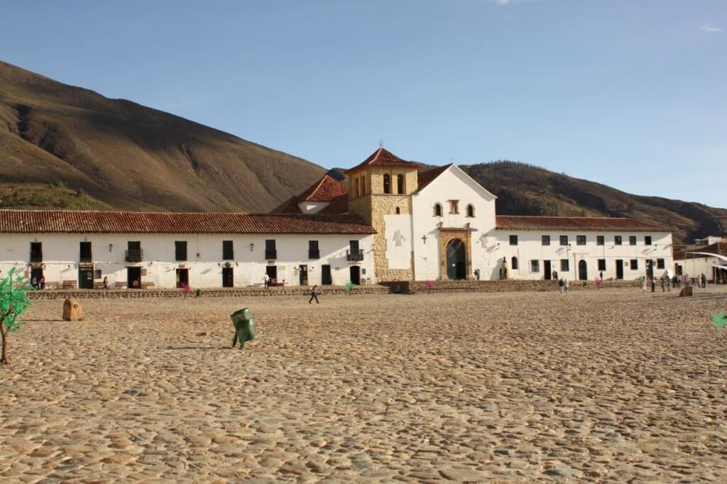 Plaza de Armas in Villa de Leyva.  Photo by Nate.