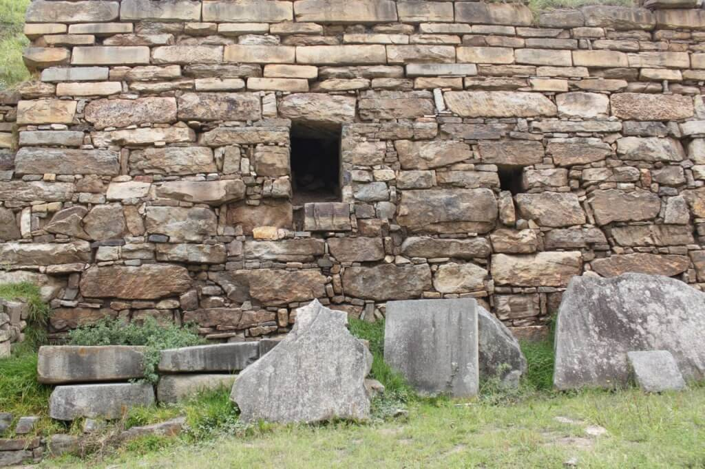 A temple at Chavin de Huantar. Photo by Nate