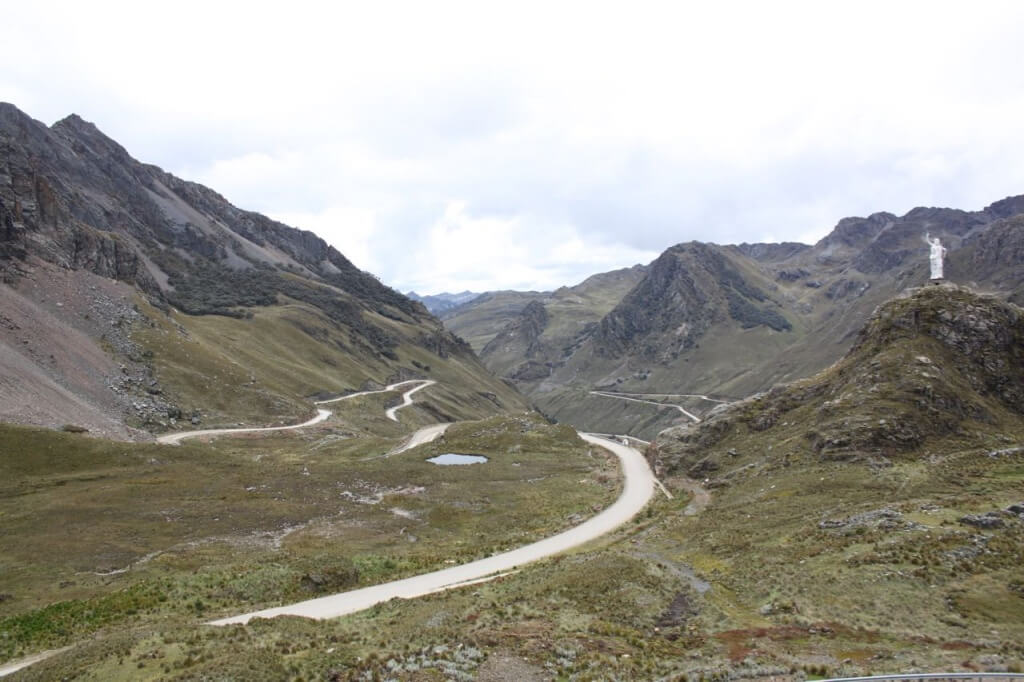 Mountain road to Chavin. Photo by Nate