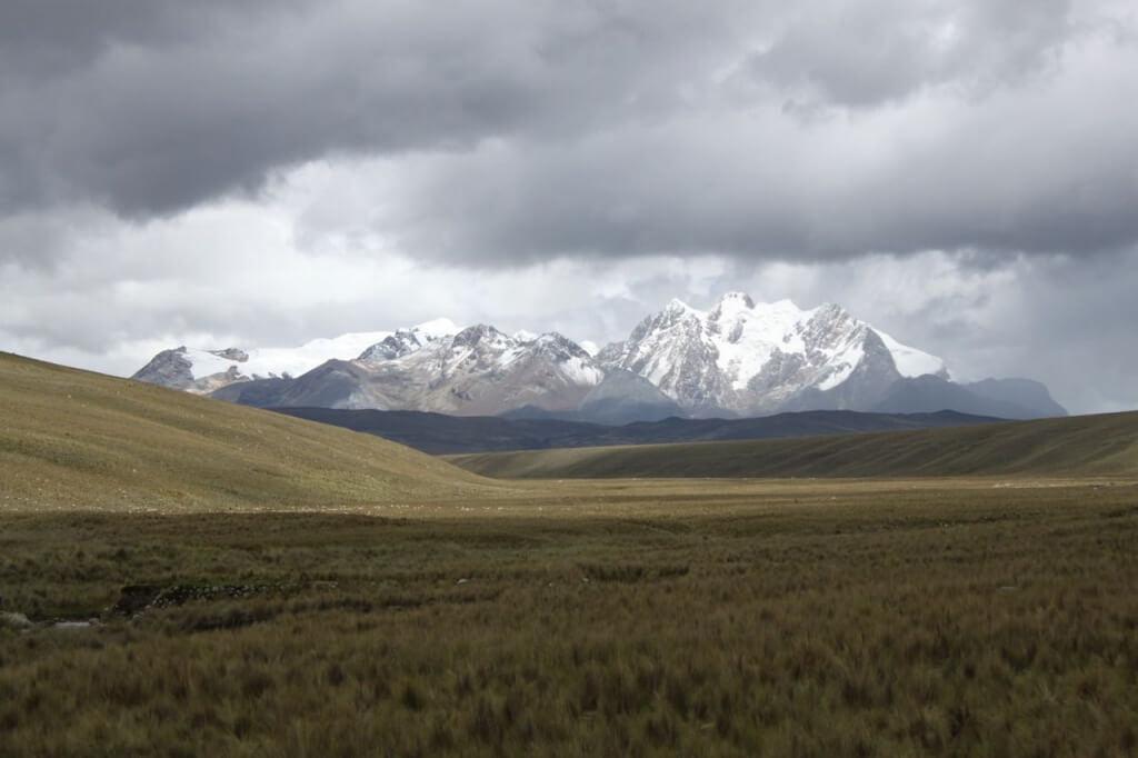 The Cordillera Blanca.  Photo by Nate
