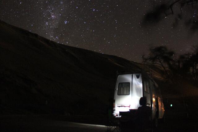 Van life at its best! Photo: Nate