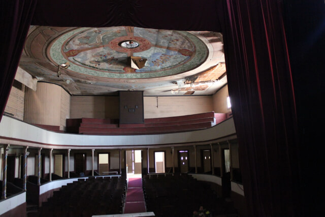 Pisagua's Municipal Theater. Photo: Nate