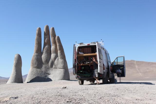 La Mano del Desierto. Photo: V