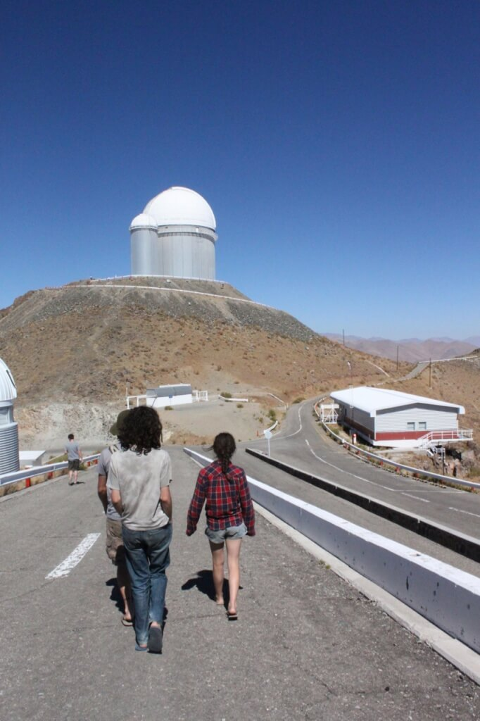 Off to La Silla Observatory.  Photo by V.